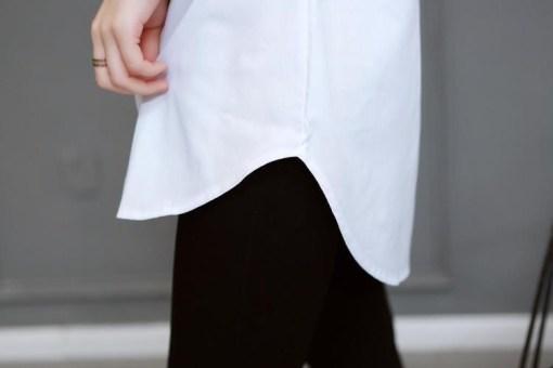Блузка женская 171788 белый цвет