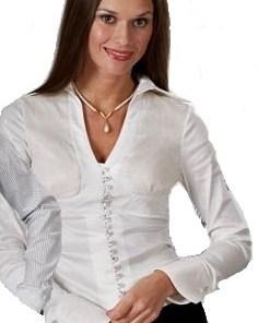 Блузка женская 371425 лимонно-белый