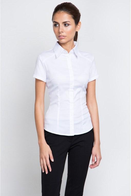 Блузка женская 8195-1 белый цвет