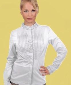 Блузка женская Эрика белый цвет