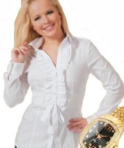Блузка женская Моника белый цвет
