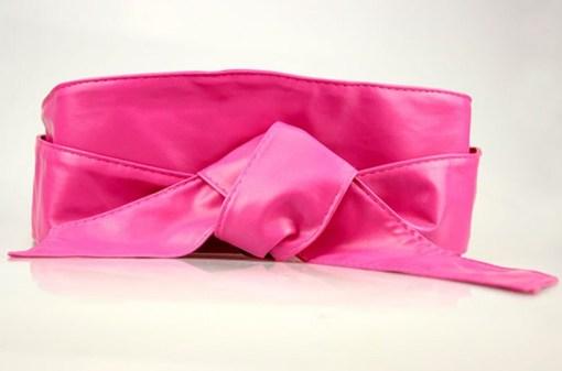 Пояс-кушак розовый цвет