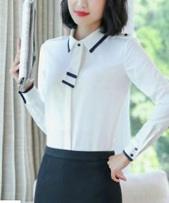 Блузка женская 171789 белый цвет