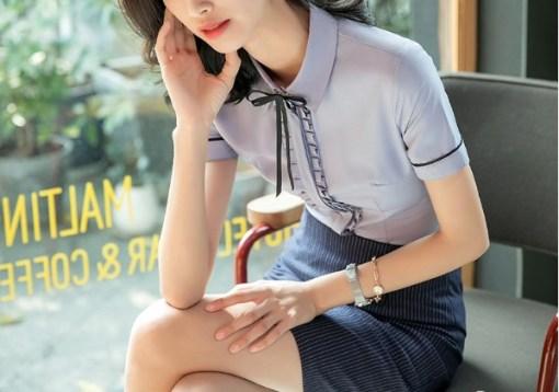 Блузка женская 171790 серый цвет