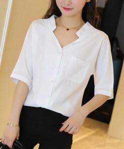 Блузка женская 171798 белый цвет