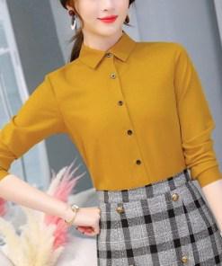 Блузка женская 1717101 ореховый цвет
