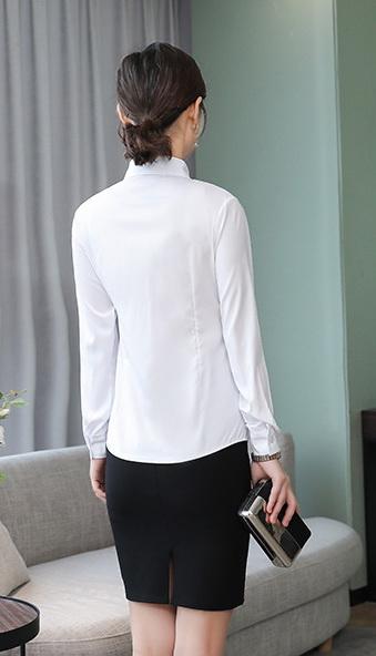 Блузка женская 1717104 белый цвет