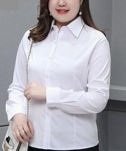 Блузка женская 1717105 белый цвет
