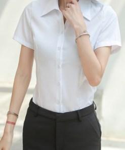 Рубашка женская 1717108 белый цвет