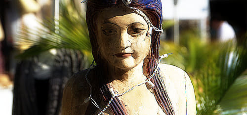good karma statue