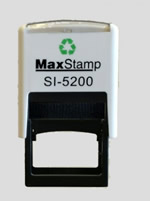 We supply Maxstamp self-inking and hand stamps. We also manufacture in-house pre-inked 'flash' stamps. Maxstamps are ideal for very fine detailed images.