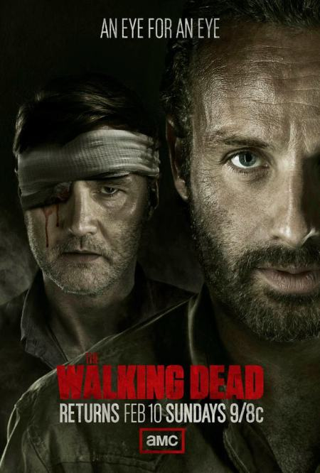 Cartel de The Walking Dead temporada 3