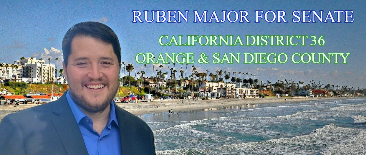 Ruben Major for California Senate District 36