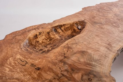 Highly Figured, Spalted Birdseye Maple Coffee Table