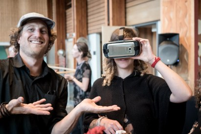 """Ill back Brian just about anytime he puts his back into his work. But, could VR technologies be promoting and romanticizing an experience that supports a life where we live more in our heads/minds? Will these digital devices aid create a disembodied experience, or will it bring more value to the world? """"We make our tools and then they shape us"""" -Kenneth Boulding"""""""
