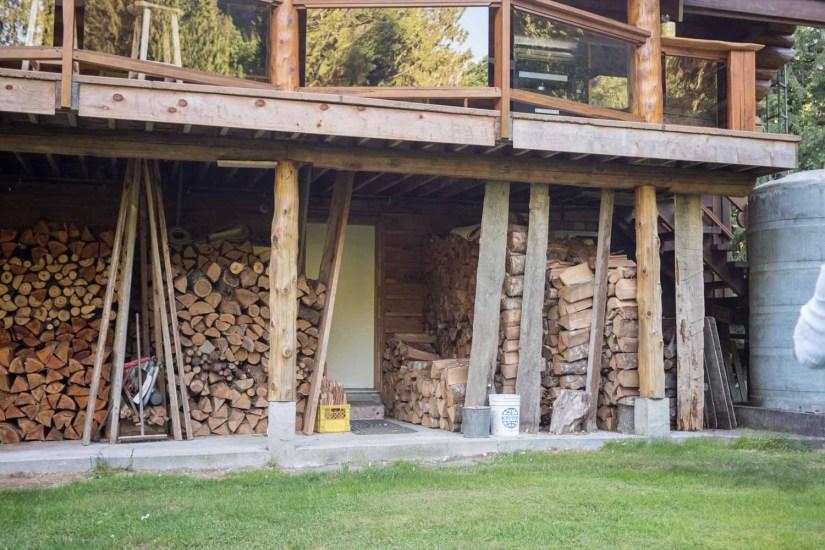 Lots of wood around here