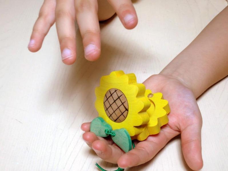 木製カスタネット creationstudio 0157-42-3888
