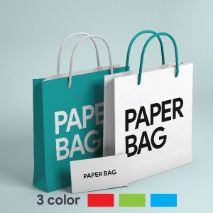 RubikPrint Shopping Bag - 3 Color