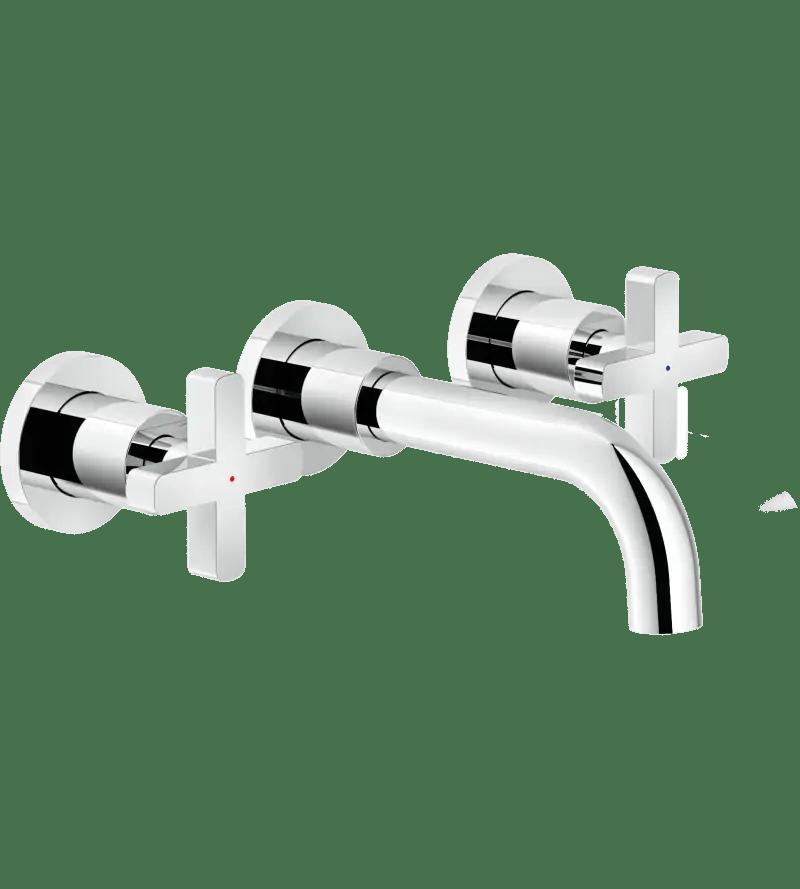 melangeur lavabo encastre 3 trous nobili lira lr116298 lr116298 1