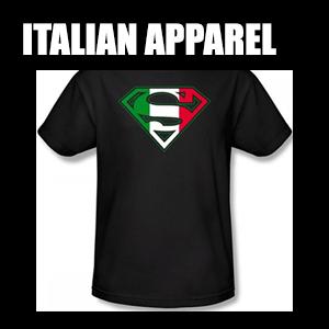Italian Apparel – Show off your Italian Pride.