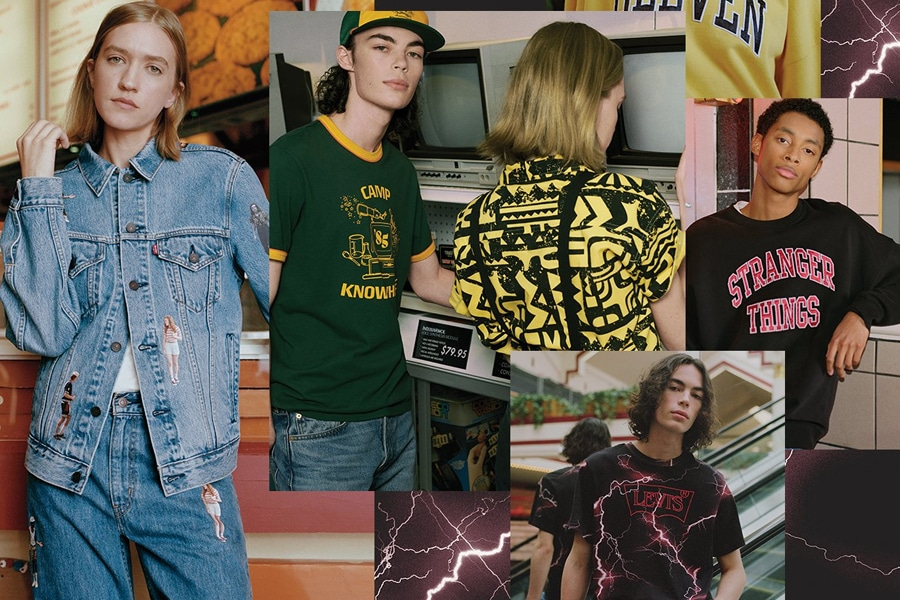 Levi's x Stranger Things Collection