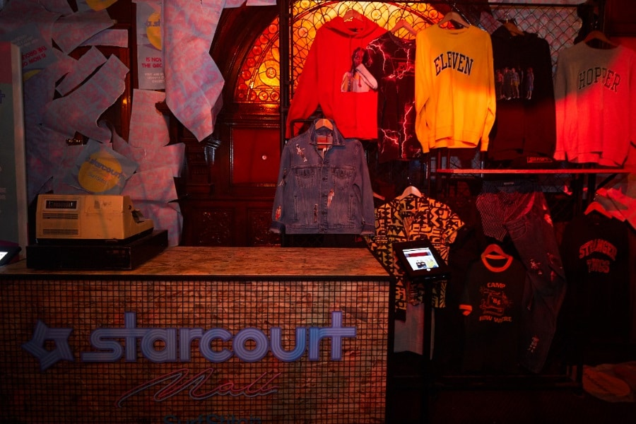 starcourt mall clothing range