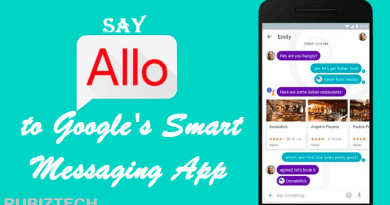 New Google Allo messaging app
