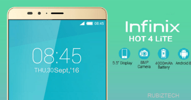 Infinix Hot 4 Lite With 4000mAh Battery Specs, Price in Nigeria, Kenya