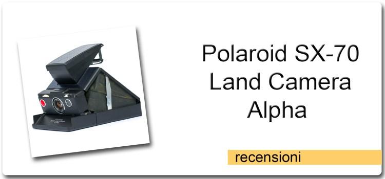 Polaroid SX-70 Land Camera Alpha