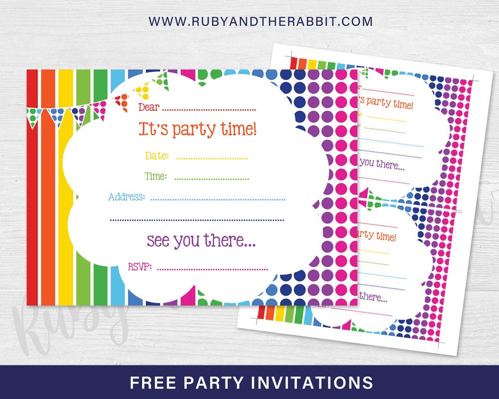 Design Party Invitations Online