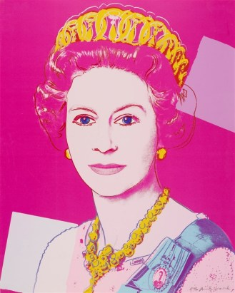 Andy Warhol, Queen Elizabeth II of the United Kingdom, 1985 - © 2015 The Andy Warhol Foundation for the Visual Arts, Inc. Artists Rights Society (ARS), New York