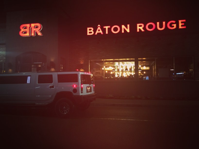 Baton Rouge Oakville and hummer limo
