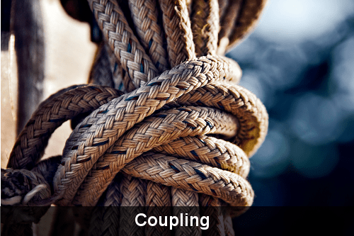 Knot image used to demonstrate coupling