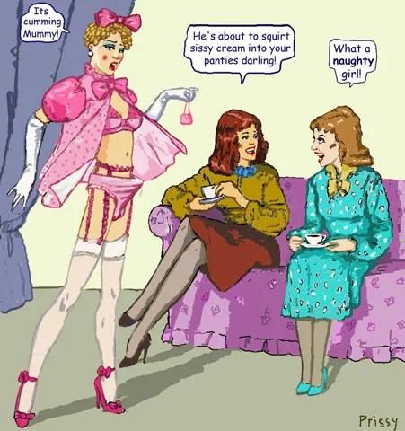 Seattle feminization and crossdressing