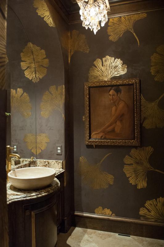 Powder room by Beth Lindsey