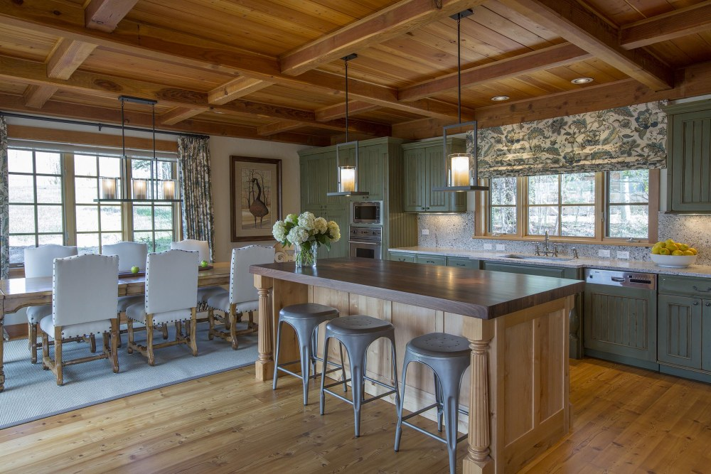 Kitchen and Dining Room Design by Beth Lindsey