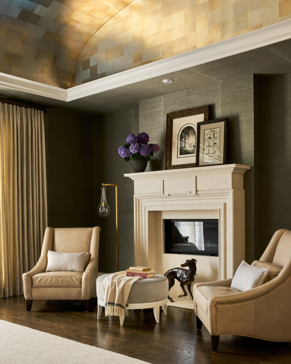 Designer Denise pays thoughtful attention to shape, texture and color - even when designing in neutrals.