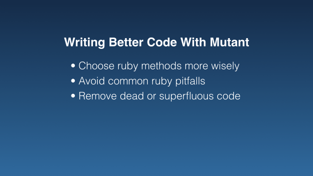 Remove dead or superfluous code (bullet point)