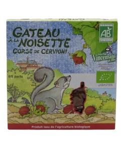 Gateau bio a la Noisette Corse de Cervioni 300g 01