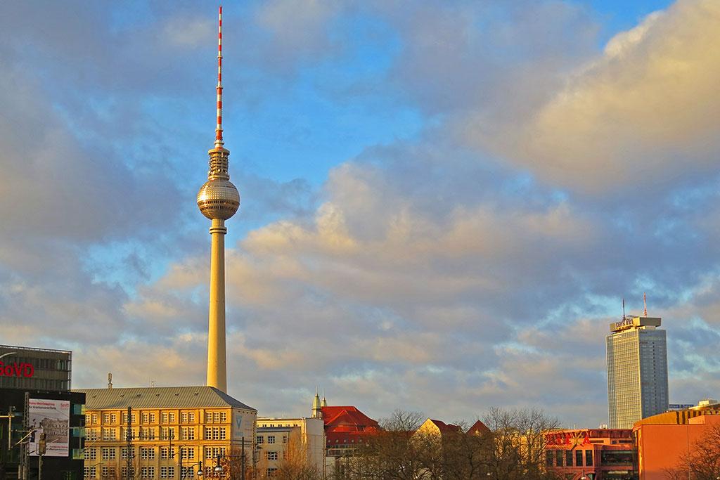 Alexanderplatz i Berlin