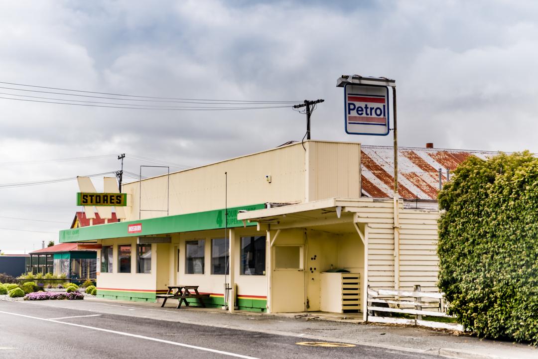 Vägbild från Nya Zeeland