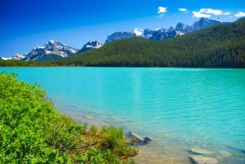 Blå blå vindar och vatten
