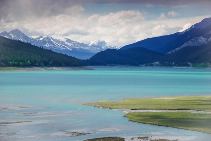 Lugna vatten i Jasper NP