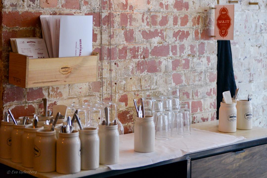 Meatballs - Sjysst restaurang och vinbar i Melbourne