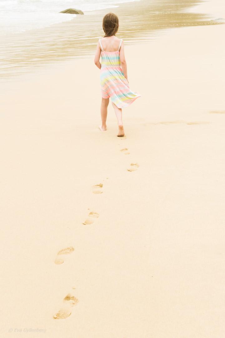 Strandpromenad på Phuket