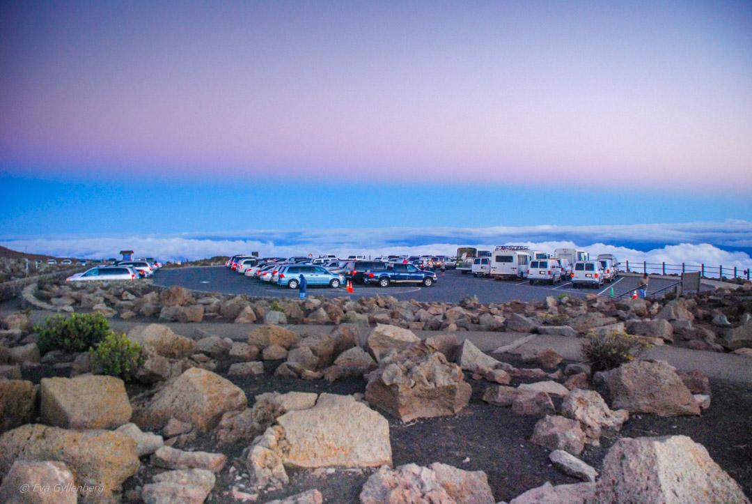 Haleakala parkering