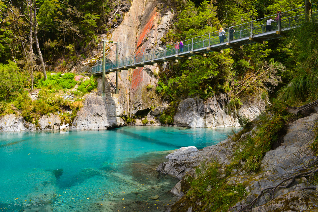 Mount Aspiring National Park - Blue Pools