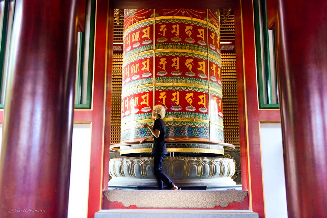 Ett oplanerat besök till Buddha Tooth Relic Temple i Singapore