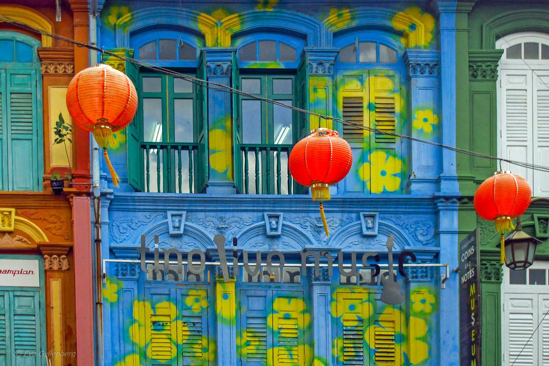 Chinatown i Singapore – myller, människor och mat
