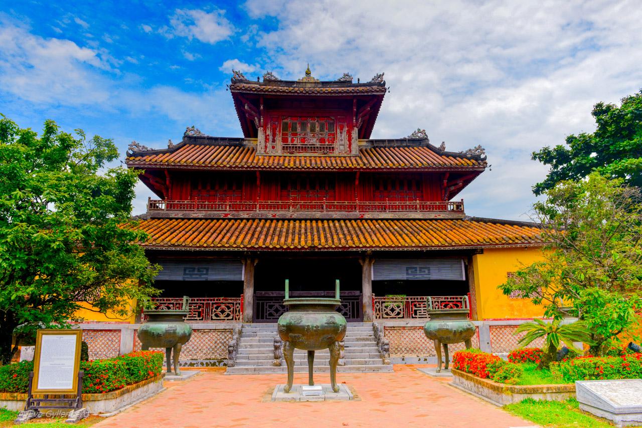 Förbjudna staden i kejsarstaden Huế